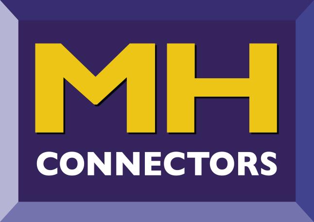 MH Connectors : Connecteurs, capots plastique et métalique pour SUB-d